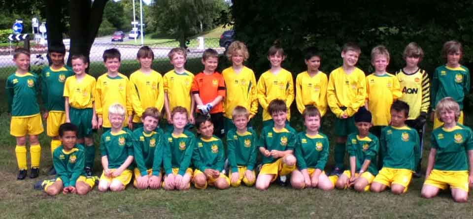 Hitchin Town Youth Football Team